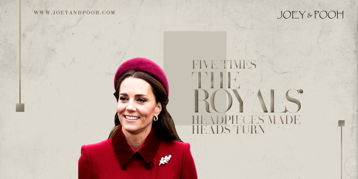 Five Times The Royals' Headpieces Made Heads Turn